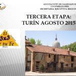 3×3 de tu fe – Peregrinació a Turí 2015