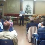 Trobada final de curs, imposició pins 25 anys de promesa i Promeses de tres noves SSCC, al Centre de Ciutat Meridiana