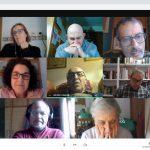 Encuentro del Consejo Provincial con los SSCC en formación de Monzón.