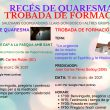 Recés de Quaresma i Trobada de formació / Retiro de Cuaresma y Encuentro de formación